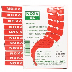 Lốc 12 Hộp Noxa 20 Trị Đau Nhức Xương Khớp Thái Lan