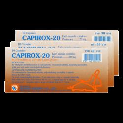 Viên Trị Khớp Và Gút Capirox-20 Thái Lan
