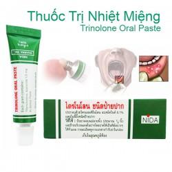 Kem Trị Nhiệt Miệng NIDA TRINOLONE ORAL PASTE Thái Lan