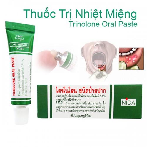 Thuốc trị nhiệt miệng nội địa Thái Lan