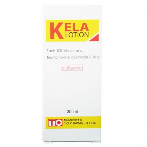 Thuốc trị viêm lỗ chân lông Kela lotion Thái Lan